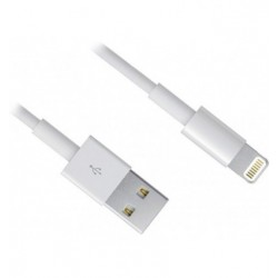 CABLE USB 2.0 A IPHONE LIGTHTING 1MTS