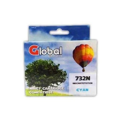 CARTUCHO ALTERNATIVO EPSON T073 CYAN GLOBAL